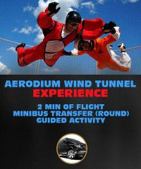 Aerodium Wind Tunnel Experience in Latvia - 2 min of Flight Simulator