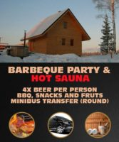 Barbeque Party & Hot Sauna in Latvia - Beers, BBQ, Snacks, Fruits.