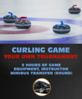 Play Curling Game Tournament in Riga