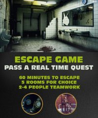 Escape Game in Riga - Pass the Real Time Quest for 60 Min. 5 Rooms for Choice.