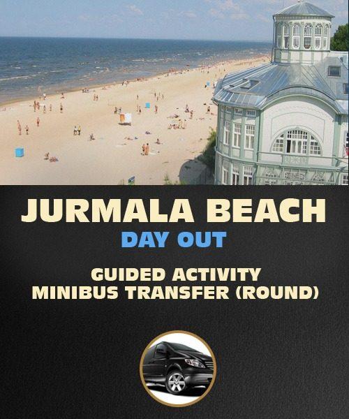 Jurmala Day Out, Riga, Latvia. Guided Activity.