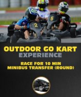 Outdoor Go Kart Experience in Riga for 10 Min.