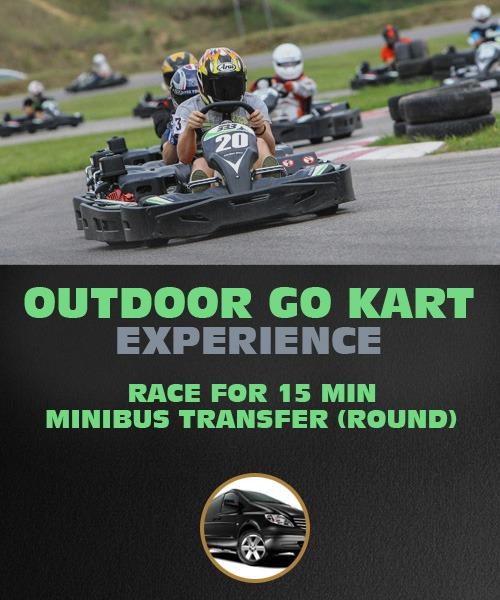 Outdoor GO Kart : 15 min