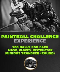 Paintball Challenge Experience in Riga - 500 balls For Each.