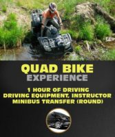 Quad Bike Experience in Riga. 1 hour of Driving ATV.