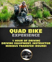 Quad Bike Experience in Riga. 1 hour of Driving ATV.