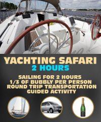 Riga Yachting Safari 2 Hours
