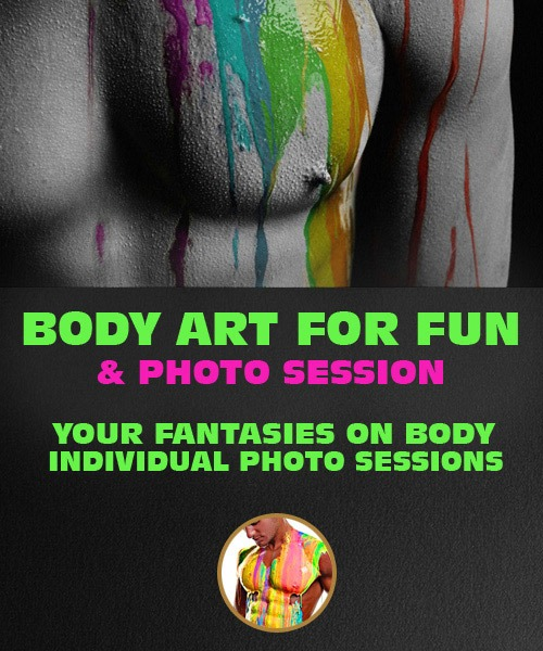 Riga Body Painting Male Riga Hen Weekends