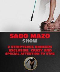 Sado Mazo Show for Stag Do in Riga.