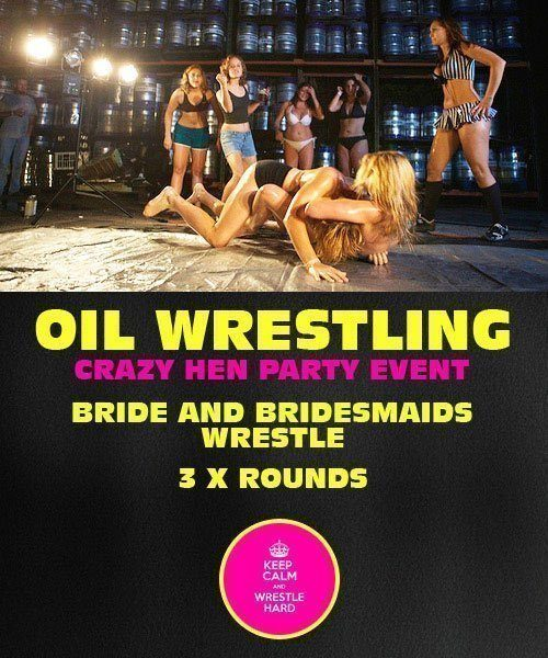 Oil Wrestling Riga Hen Party by www.rigastagpartyweekend.com