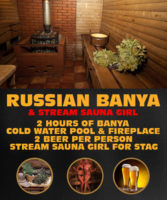 Russian Banya with Stream Sauna Attendant by www.rigastagpartyweekend.com