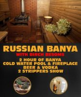 Russian Sauna With Birch Besoms by www.rigastagpartyweekend.com