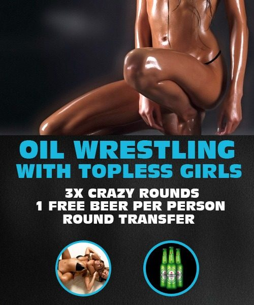 Oil Wrestling for Stag Party by www.rigastagpartyweekend.com