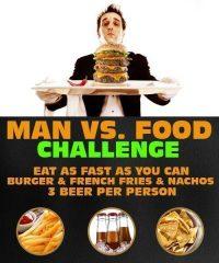 Food challenge between groom and best man. www.rigastagpartyweekend.com