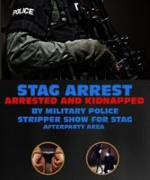 Riga Stag Do Kidnap With Military Poilice by www.rigastagpartyweekend.com