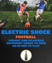 Riga Stag Party | Electric Shock Football